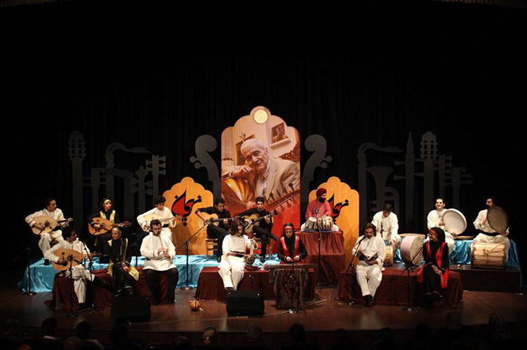 Art Hall, Tehran Fajr Music Festival, Nariman Band
