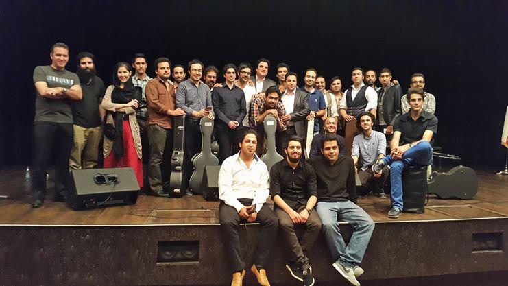 Ivan Shams, Tehran The Session of Flamenco Music