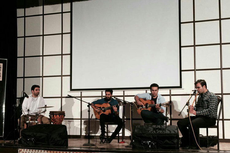 Art Hall, Saari Caspian Guitar Festival, Kooch Band